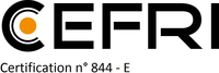 CEFRI Certification n°844-E